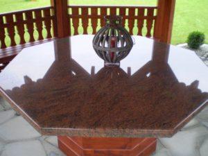 Blat z kamienia - ogród